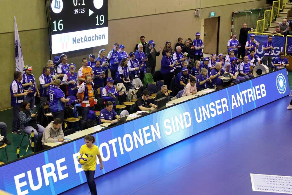 1. Volleyball-Bundesliga Ladies in Black Aachen - Allianz MTV Stuttgart
