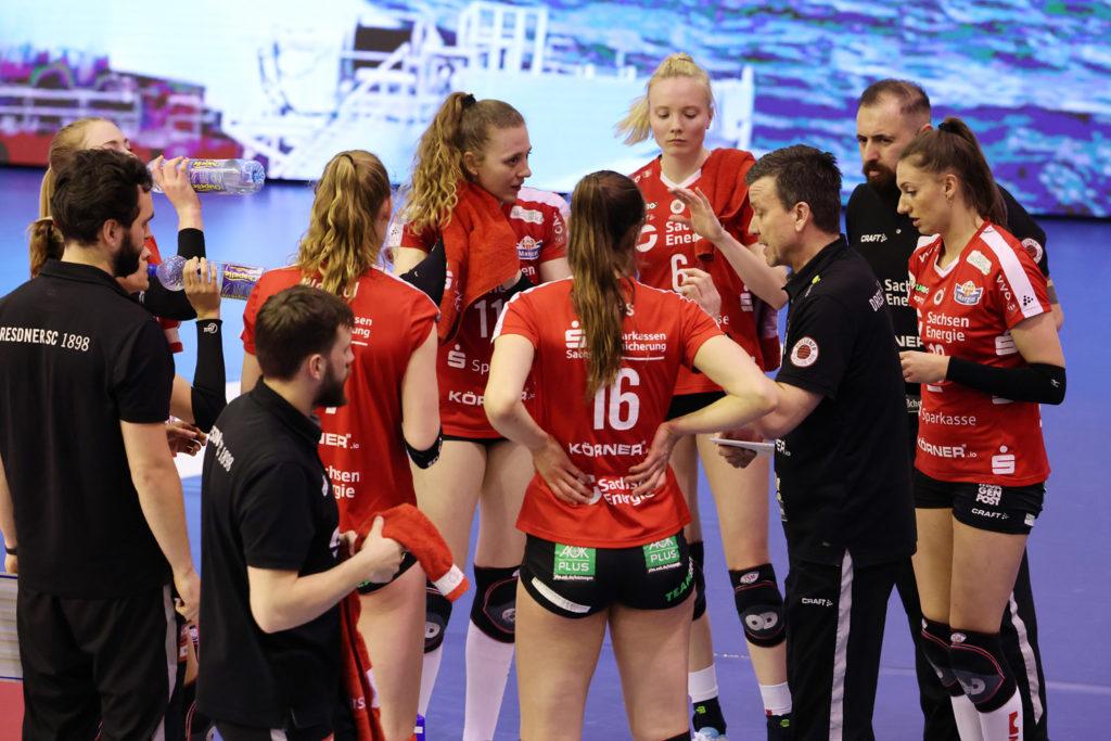 1. Volleyball-Bundesliga Play-Off Viertelfinale Ladies in Black Aachen - Dresdner SC